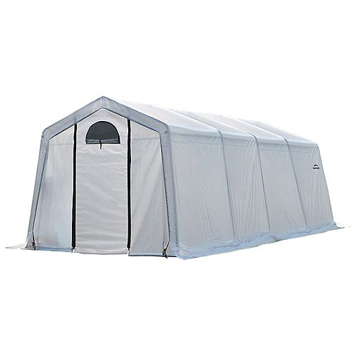 GrowIt Greenhouse-In-A-Box 10 ft. x 20 ft. x 8 ft. Easy Flow Peak-Style Greenhouse