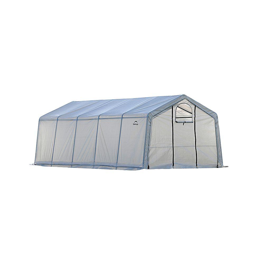 ShelterLogic GrowIt 12 ft. x 20 ft. x 8 ft. Pro Peak-Style Greenhouse-In-A-Box