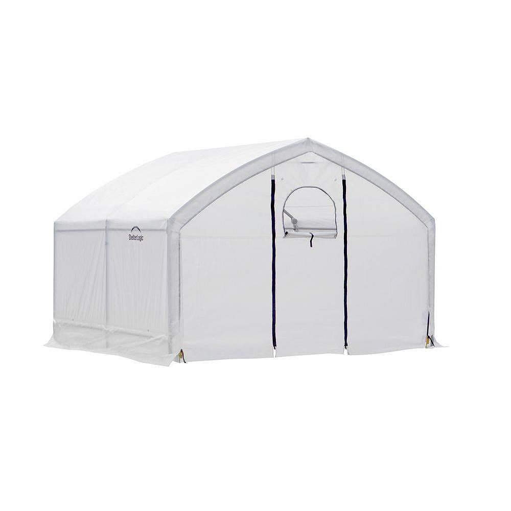 ShelterLogic AccelaFrame HD 12 ft. x 10 ft. x 9 ft. Greenhouse