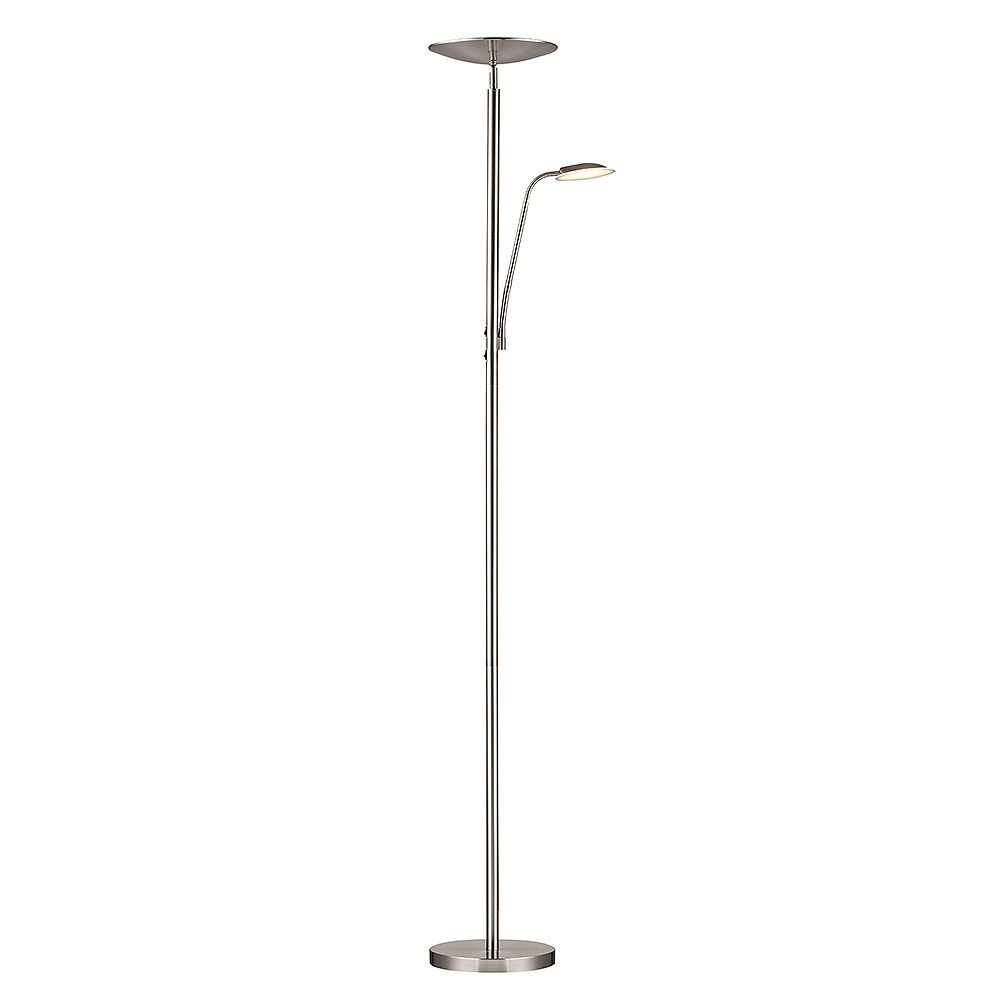 Hampton Bay 70.1-inch LED Mother Daughter Floor Lamp