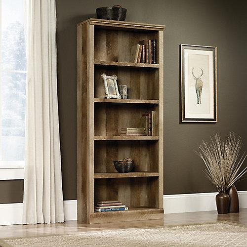 East Canyon 5 Shelf Bookcase in Craftsman Oak