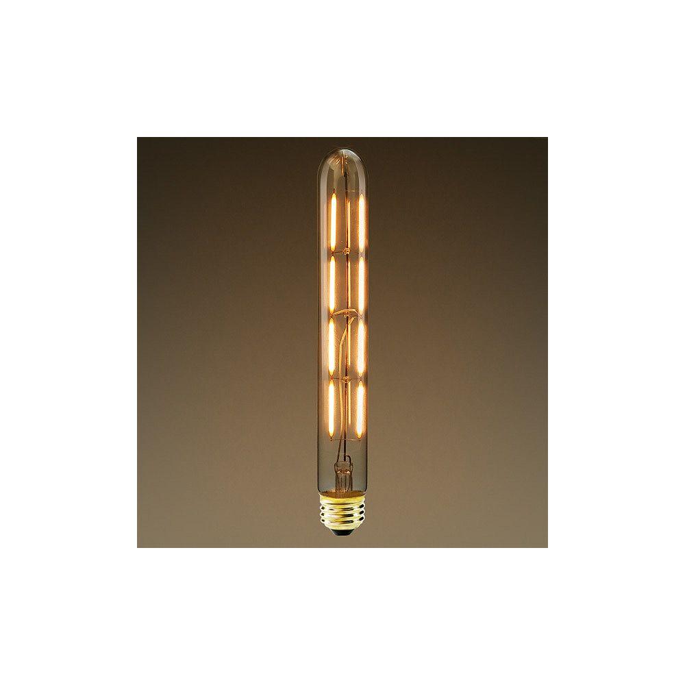 Strak LED 60W Equivalent Clear Filament 2700K T30 Edison Base E26 600LM CRI90 Dimmable LED Light Bulb (4-Pack)