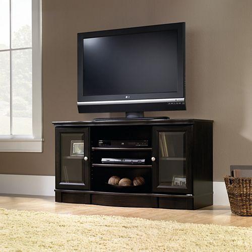 Regent Place Panel TV Stand in Estate Black