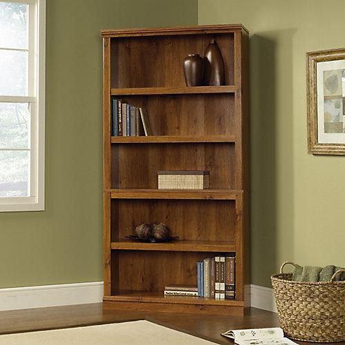 5-Shelf Bookcase in Abbey Oak