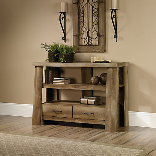 Boone Mountain Anywhere Console in Craftsman Oak