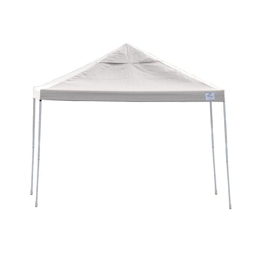 ShelterLogic 10 ft. x 20 ft. Pro Pop-Up Canopy with Straight Legs & Red Cover