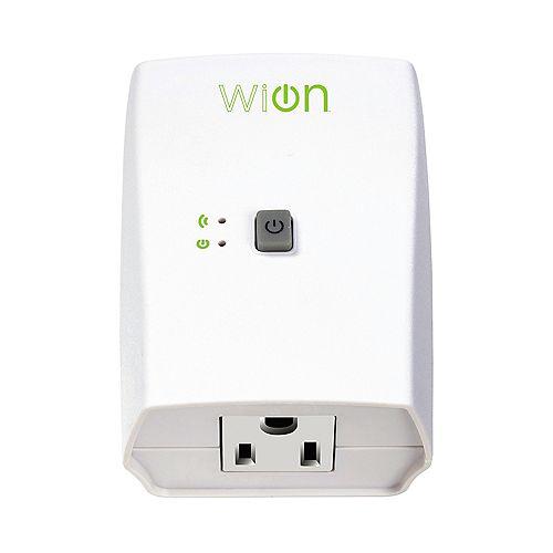 Prise interieure Wi-Fi avec interrupteur sans fil et minuterie programmable