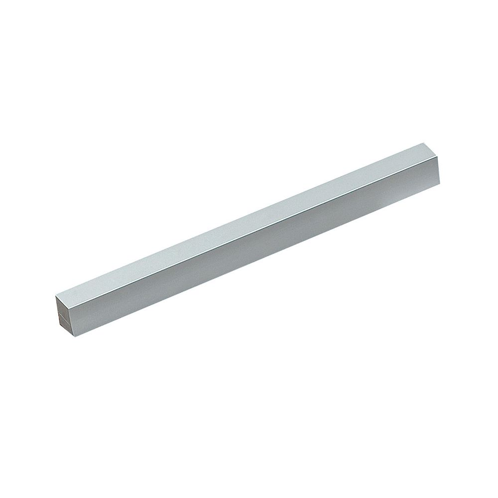 Richelieu Treviso Collection 8 13/16 in (224 mm) Center-to-Center Aluminum Contemporary Cabinet Pull