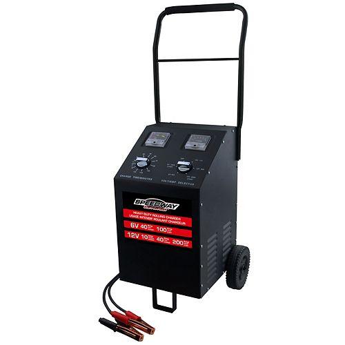 200-100-40-20-20-2 Ampères Chargeur/démarreur de batterie