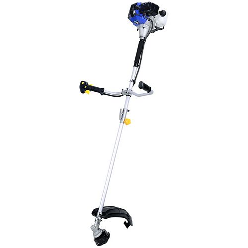 Blue Max 2-Cycle 42.7cc Straight Shaft Trimmer and Brush Cutter Combo