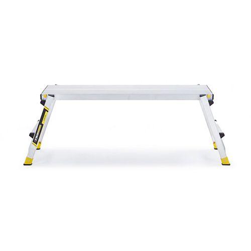 Gorilla Ladders 12-inch x 47-inch Aluminum Slim-Folding Work Platform