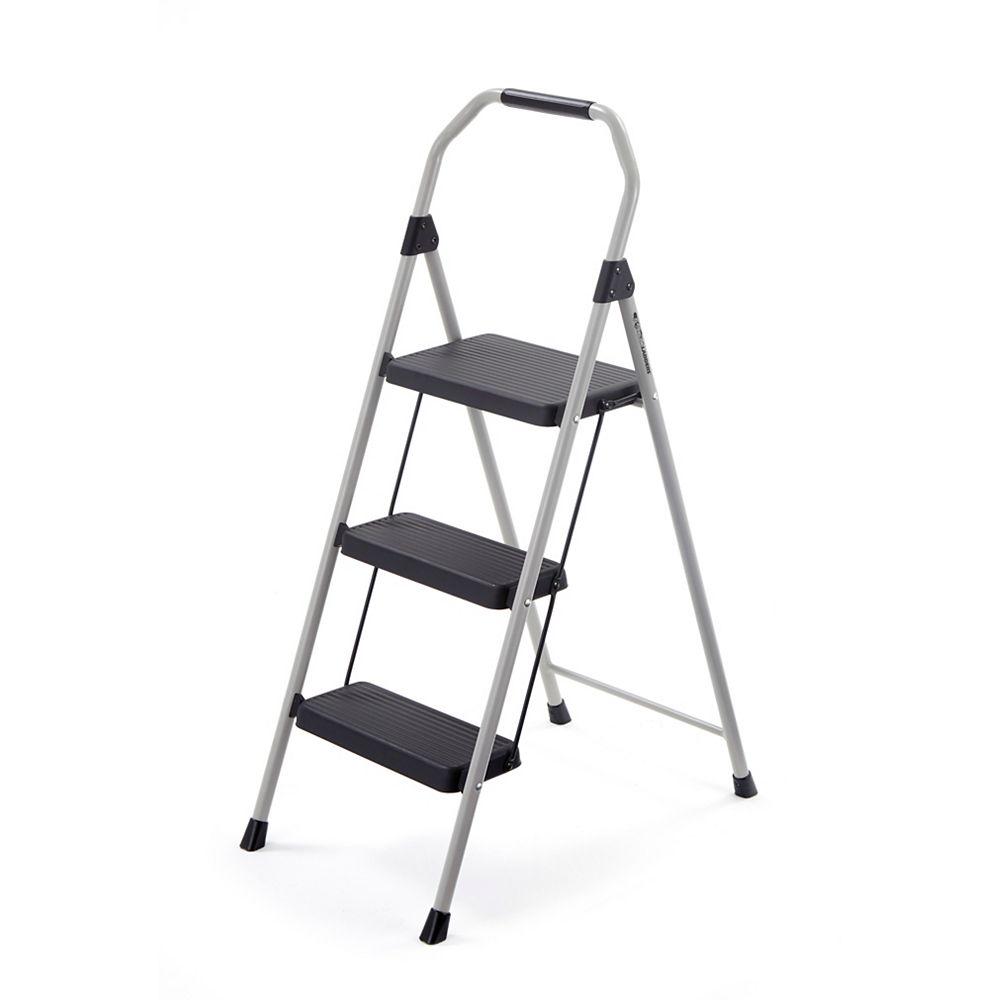 Gorilla Ladders 3-Step Compact Steel Step Stool