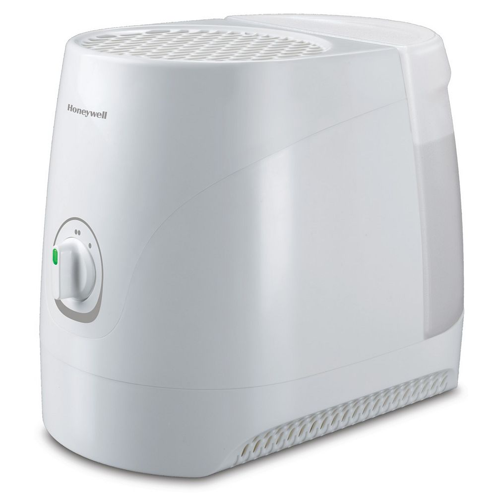 Honeywell Quiet Comfort 3L (0.8 Gal.) Cool Moisture Humidifier for Small to Medium Sized Rooms