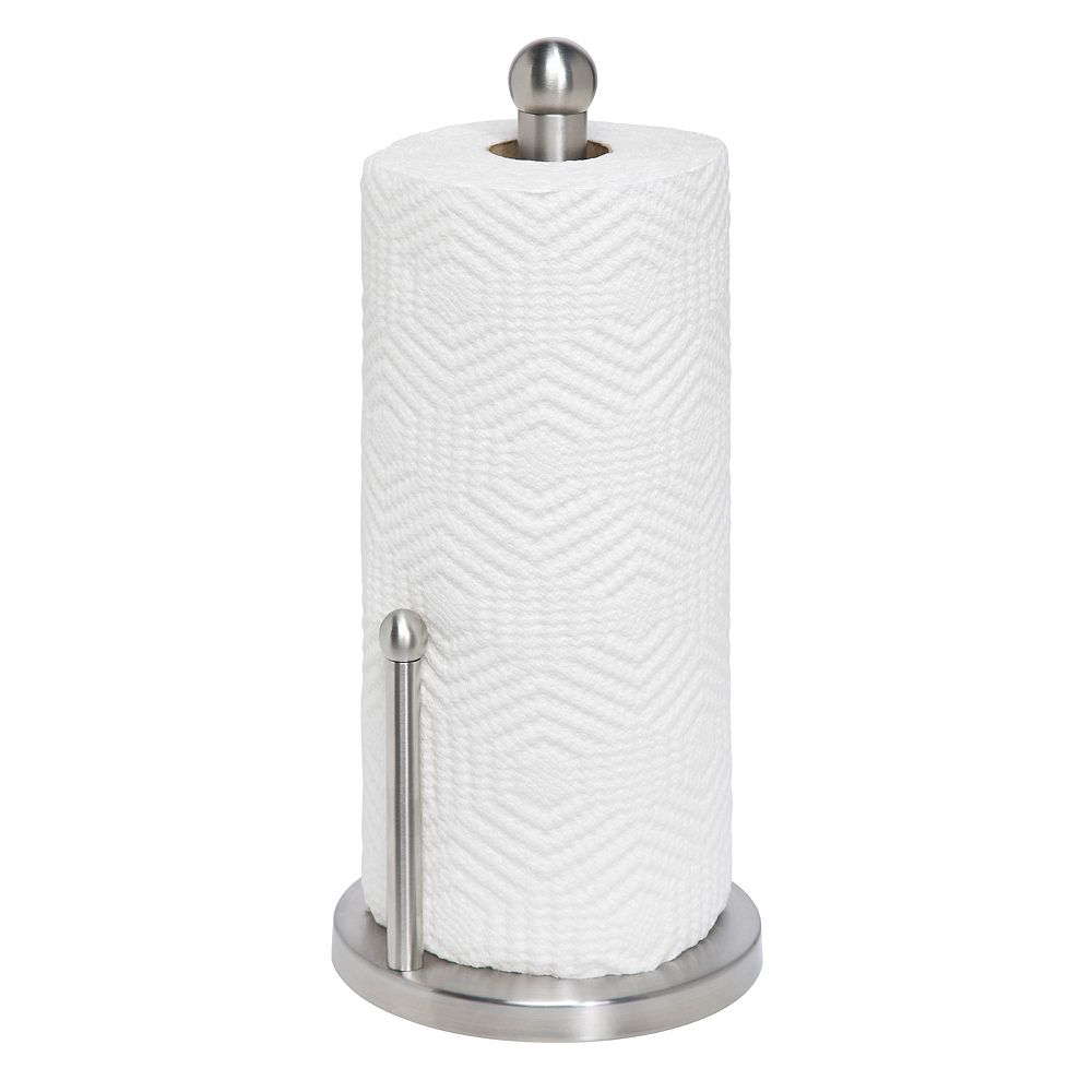 Honey-Can-Do Stainless Steel Paper Towel Holder