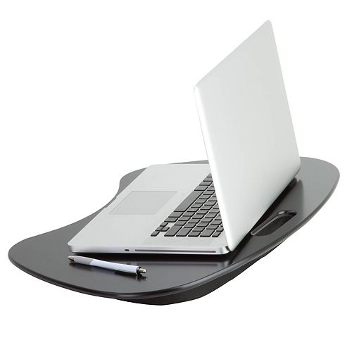 Portable Laptop Desk with Built-in Handle, Black