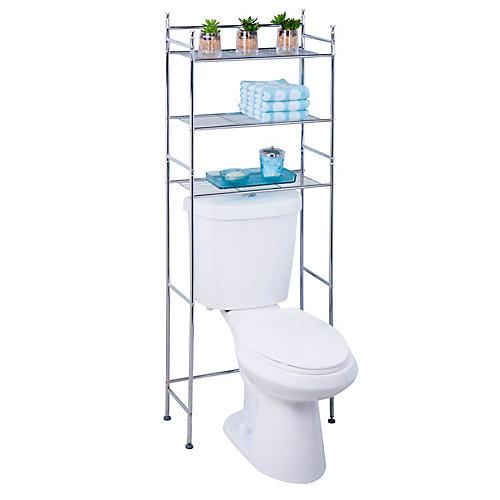 3-tier space saver, chrome