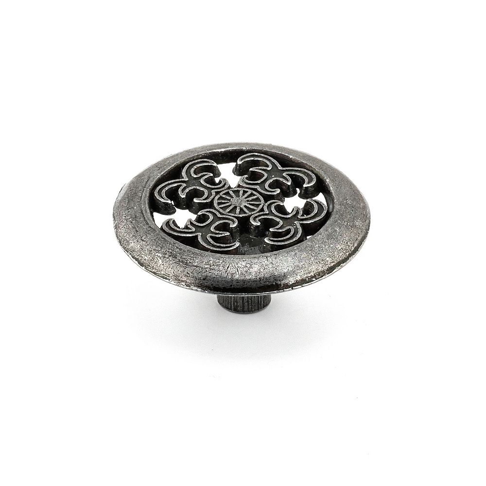 Richelieu Bouton Traditionnel Fer antique 1 1/2 in (38 mm)