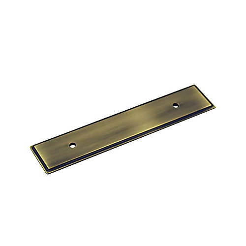 Transitional Metal Backplate for Pull 3 3/4 in (96 mm) CtoC - Tremblant Collection