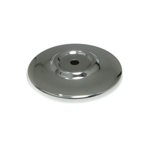 Transitional Metal Rosette for Knob 2 1/16 in (52 mm) Dia - Chrome - Tremblant Collection
