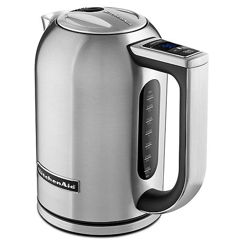 Electric Kettle in Brushed Stainless Steel