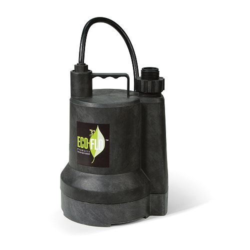 Submersible Utility Pump, 1/4HP