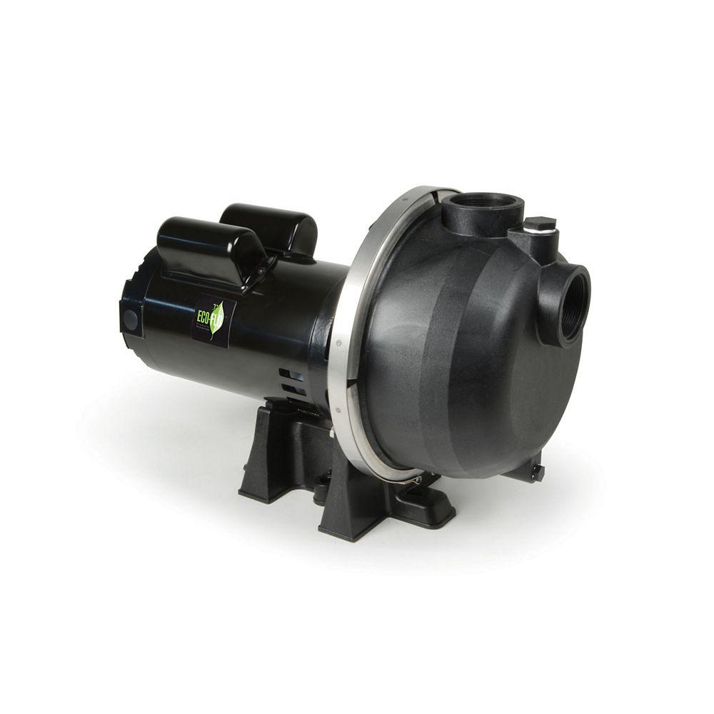 ECOFLO Lawn Sprinkler Pump, 2HP, Thermoplastic