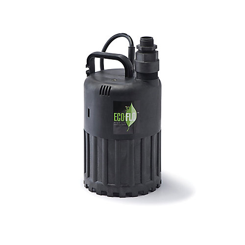 Submersible Utility Pump, 1/3HP