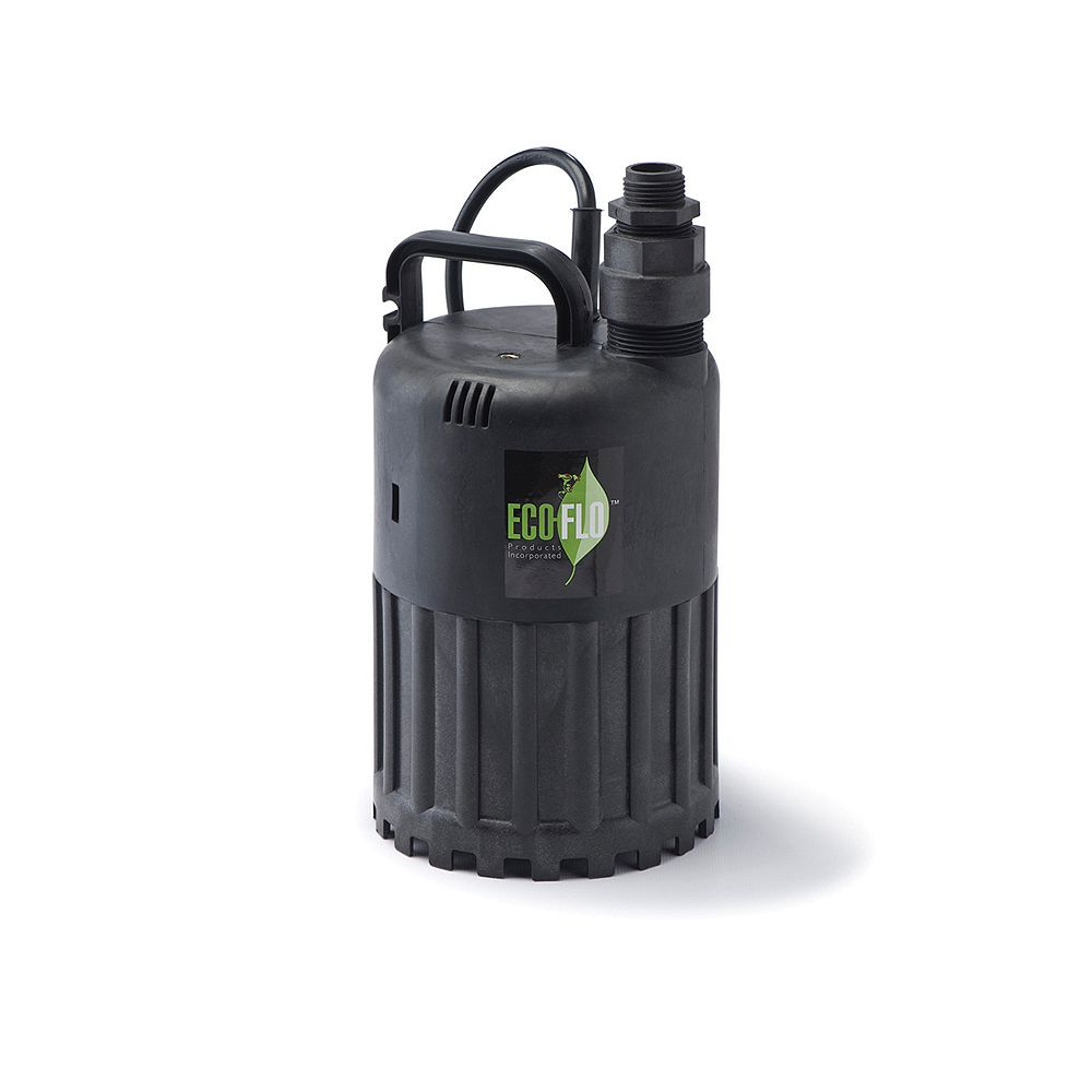 ECOFLO Pompe utilitaire submersible de 1/3HP