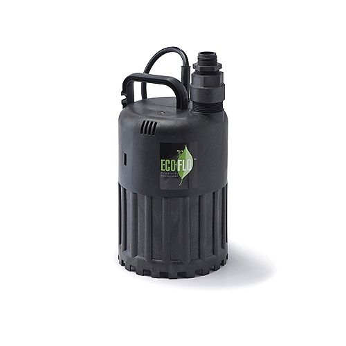 Pompe utilitaire submersible de 1/3HP