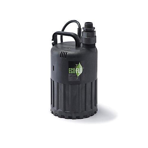 Pompe utilitaire submersible de 1/2HP