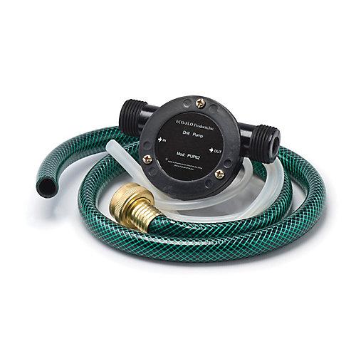 Ensemble de pompe pour perceuse (tuyau de 36po)