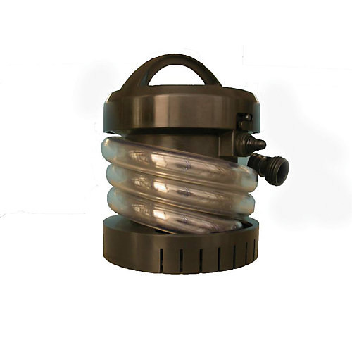 Portable Utility Pump, Battery Pwrd, 135GPH
