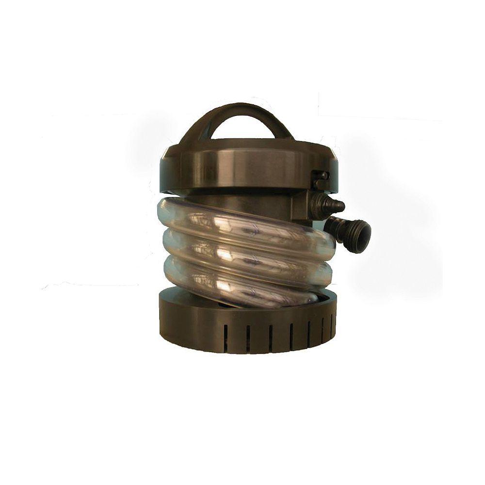 ECOFLO Portable Utility Pump, Battery Pwrd, 135GPH