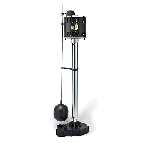Sump Pump, Pedestal, 1/3HP, Cast Iron