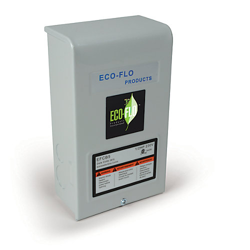 Control Box for 4-inch Sub Well Pump, 3/4HP, 3W