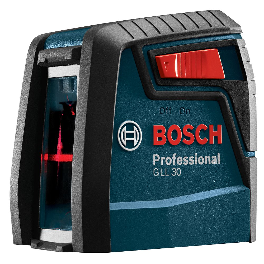 Bosch 30 ft. Self Leveling Laser Level Measure with Mounting Device, (2) AA Batteries and Belt Pouch