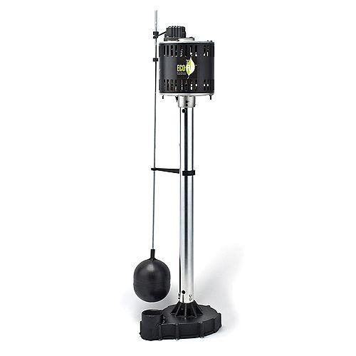 Pompe de puisard sur socle, 1/2HP, fonte
