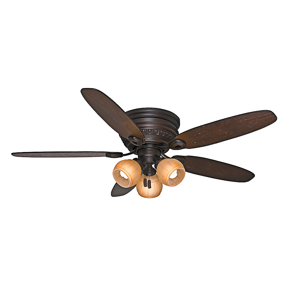 Casablanca Caledonia 54-inch  Brushed Cocoa Indoor Ceiling Fan