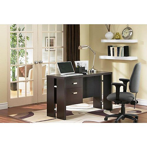 Element 47.75-inch x 30-inch x 19.75-inch Standard Computer Desk in Brown