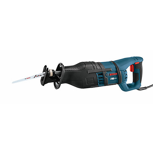14 Amp Corded 1-1/8-inch Variable Speed Stroke Reciprocating Saw with Bag and Vibration Control
