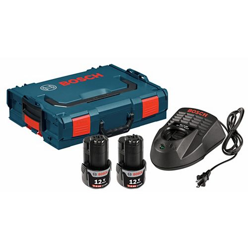 12 V Max Li-Ion Starter Kit with L-BOXX