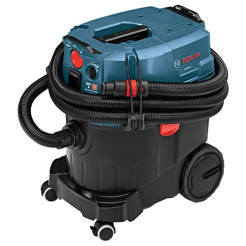 Bosch 9-Gallon Wet/Dry Dust Extractor Vacuum with Automatic Filter Clean and HEPA Filter