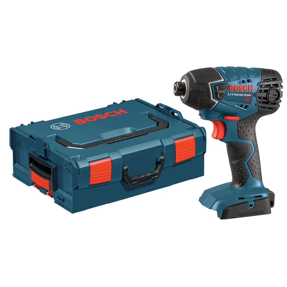 Bosch 18V 1/4-inch Hex Quick Change Chuck Cordless Impact Driver with Case