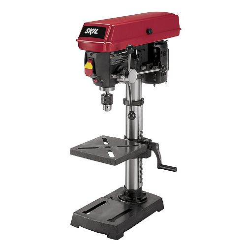 10-inch 5-Speed Drill Press with Laser