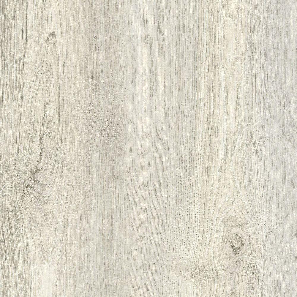 Allure Locking Flamed Oak White 8.7-inch x 60-inch Luxury Vinyl Plank Flooring (21.6 sq. ft./Case)