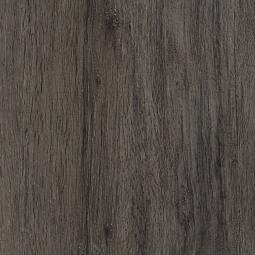 Plancher de vinyle de luxe en planches de chêne Gotham gris 8,7 po x 60 po verrouillable (21,6 pi2 / caisse)