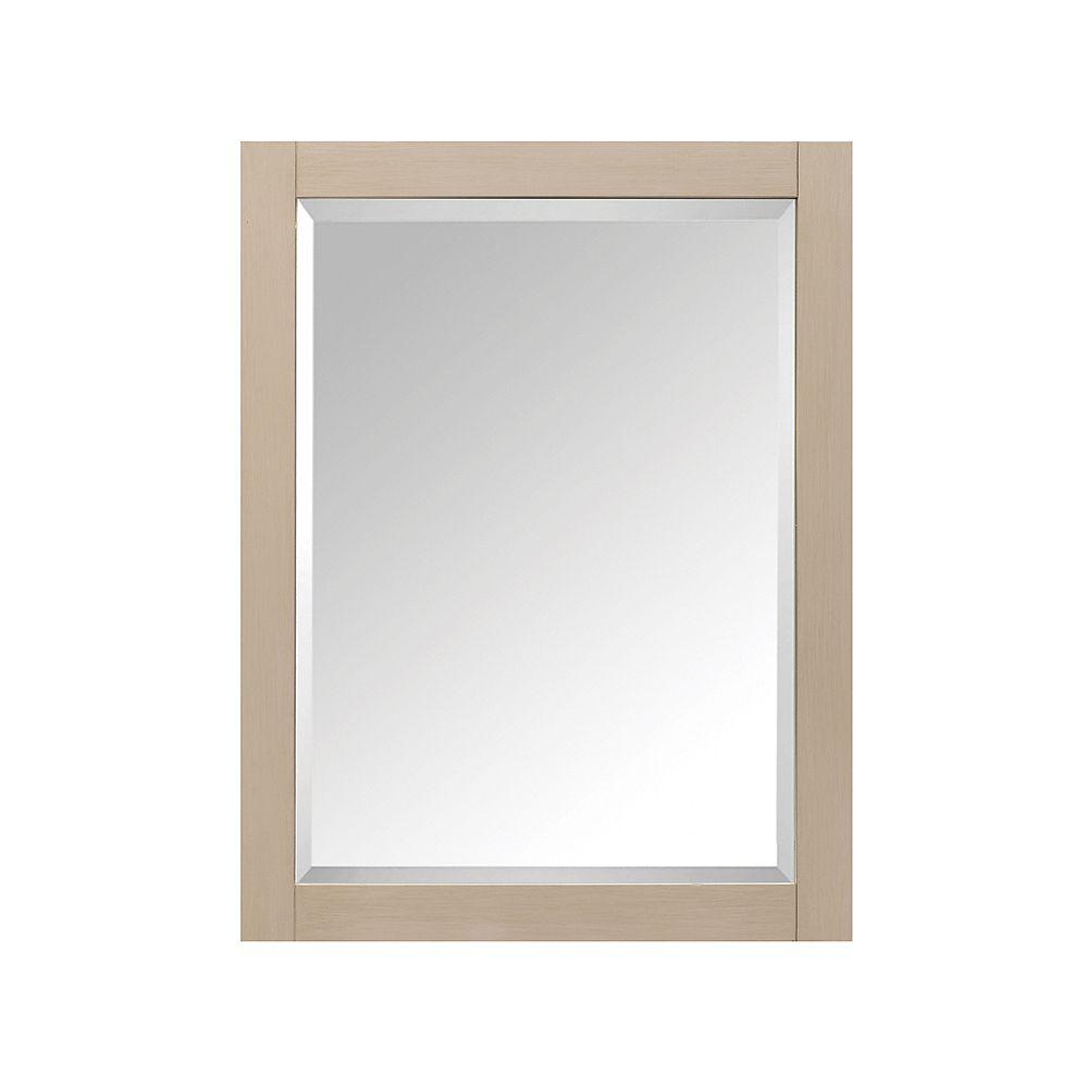 Avanity 24 Inch Mirror Cabinet For Delano In Taupe Glaze Finish