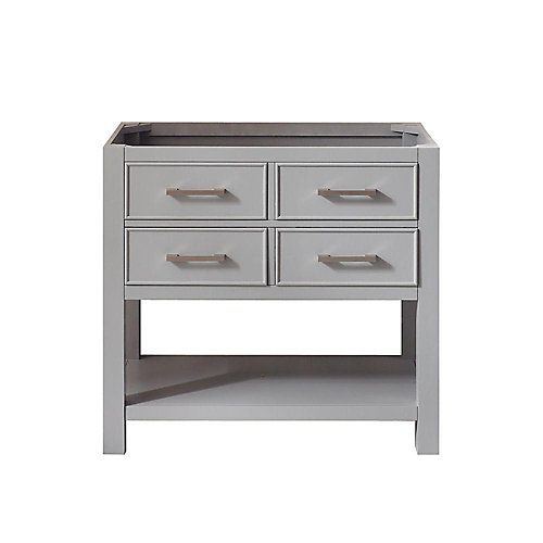 Brooks 36-inch  Vanity Cabinet in Chilled Grey Finish