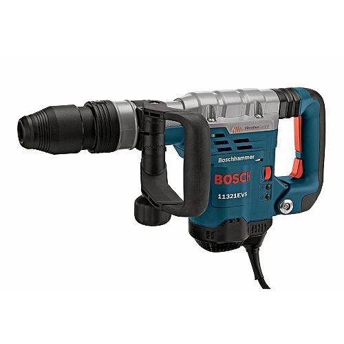 120V 1 9/16-inch SDS-Max Corded Demolition Hammer with Variable Speed, Vibration Control and Case