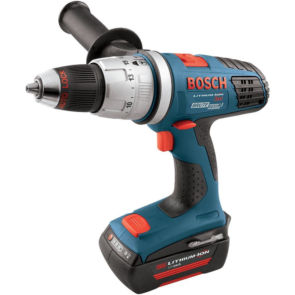 Bosch 1/2 Inch 36 V Brute Tough Hammer Drill Kit